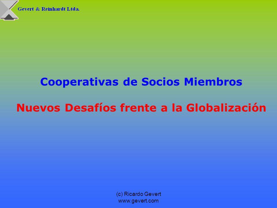 Cooperativas de Socios Miembros