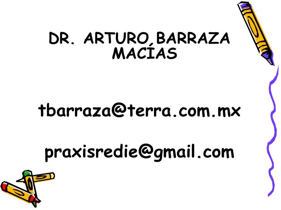 DR. ARTURO BARRAZA MACÍAS