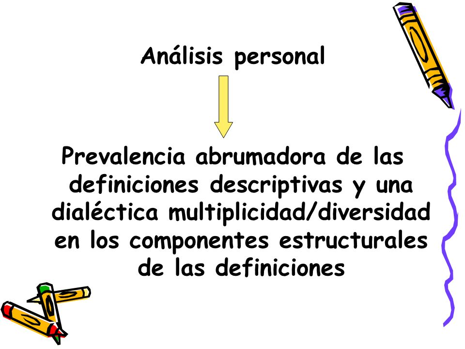 Análisis personal
