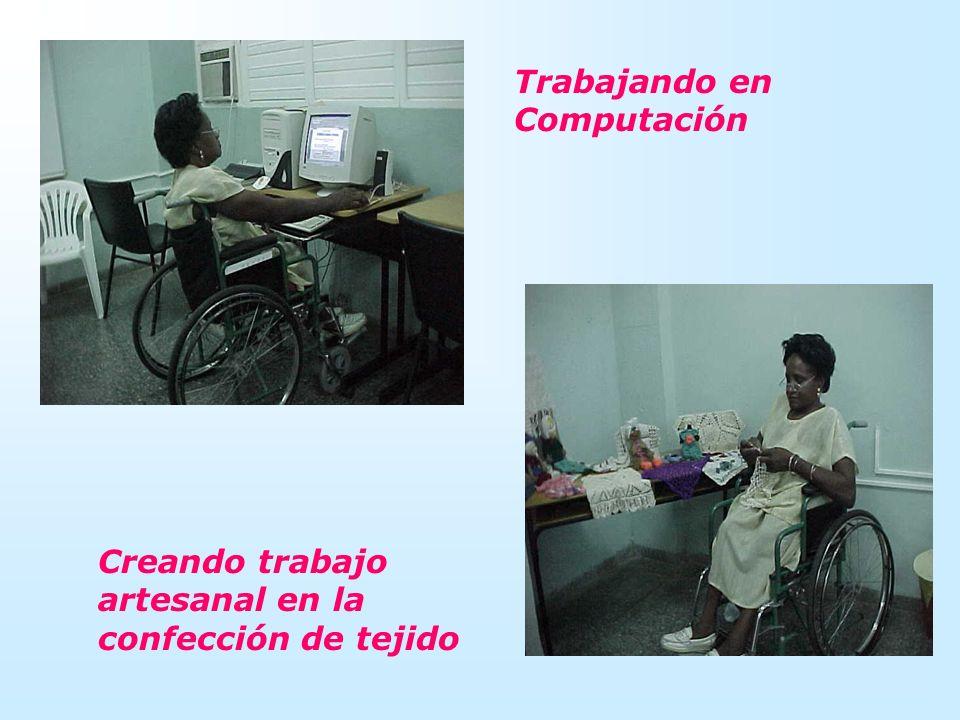 Trabajando en Computación