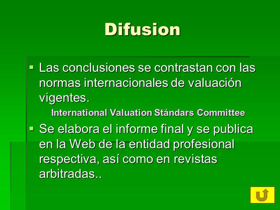 International Valuation Stándars Committee