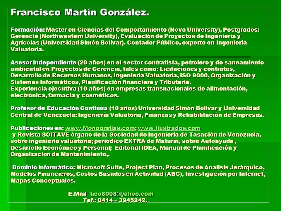 Francisco Martín González