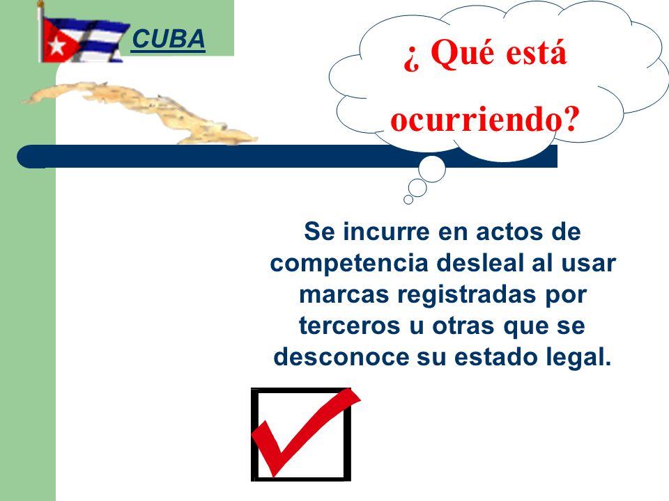 ¿ Qué está ocurriendo CUBA