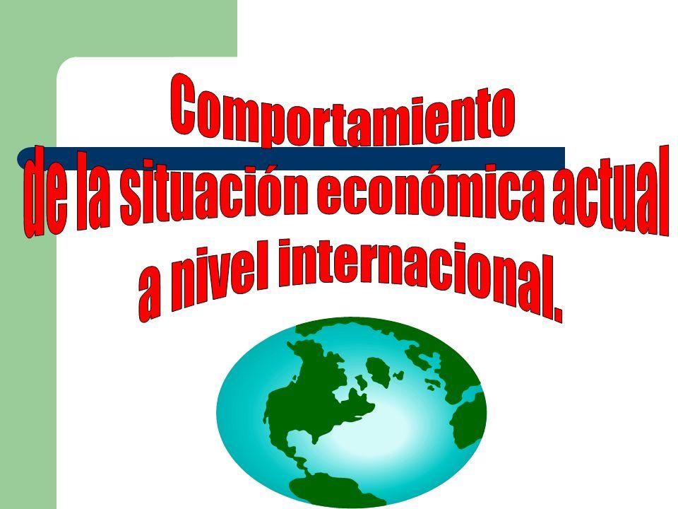 de la situación económica actual