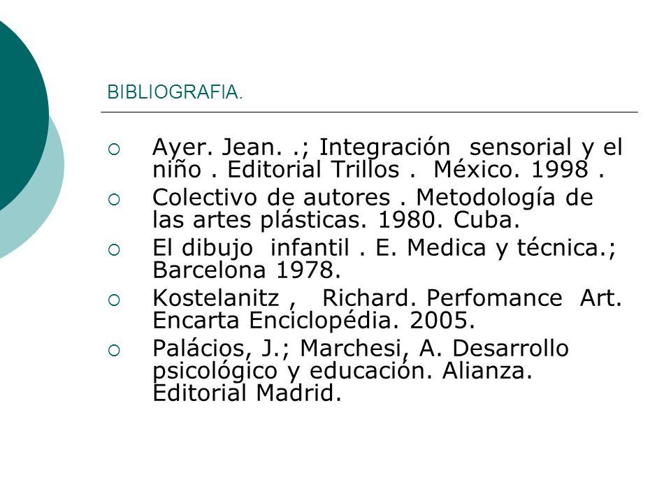 Colectivo de autores . Metodología de las artes plásticas. 1980. Cuba.