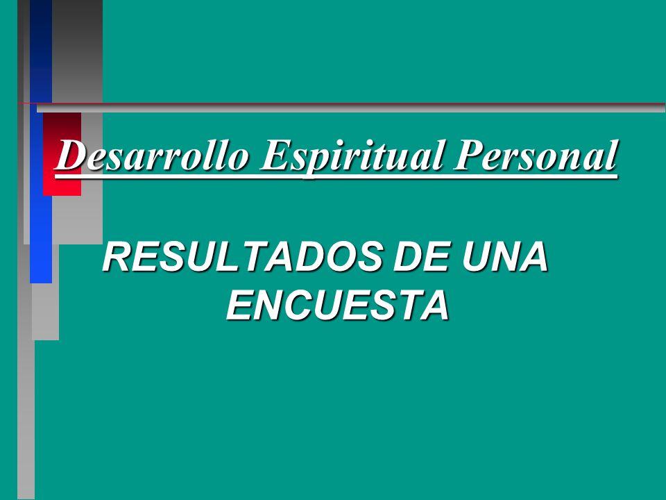Desarrollo Espiritual Personal