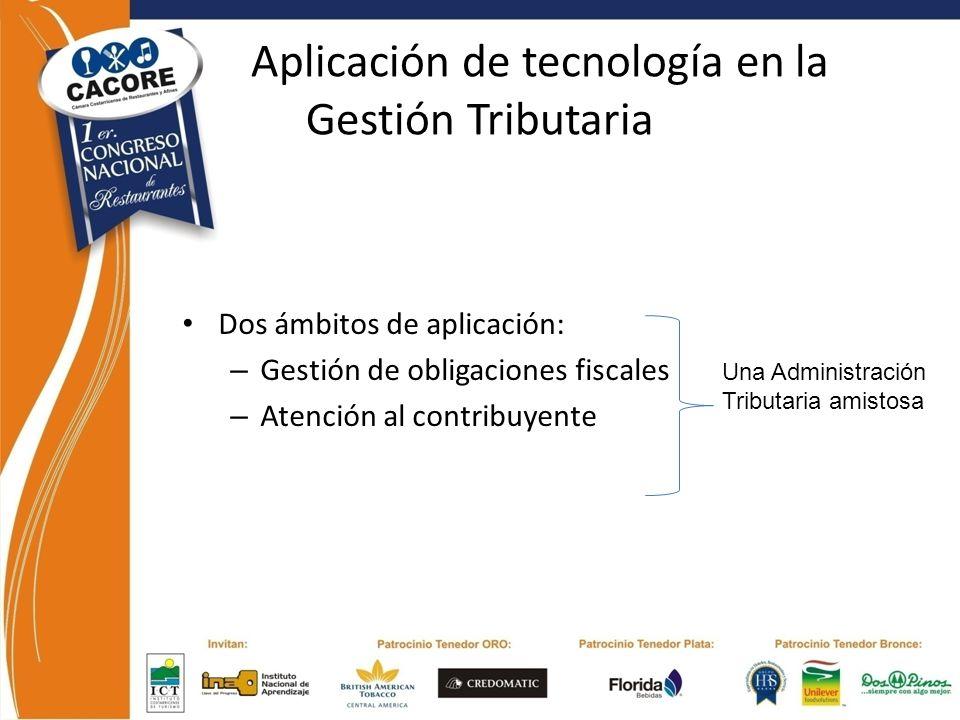 Aplicación de tecnología en la Gestión Tributaria