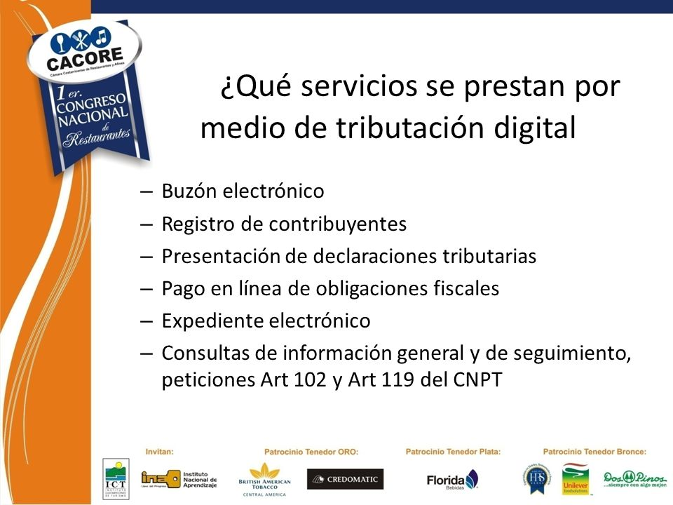 ¿Qué servicios se prestan por medio de tributación digital