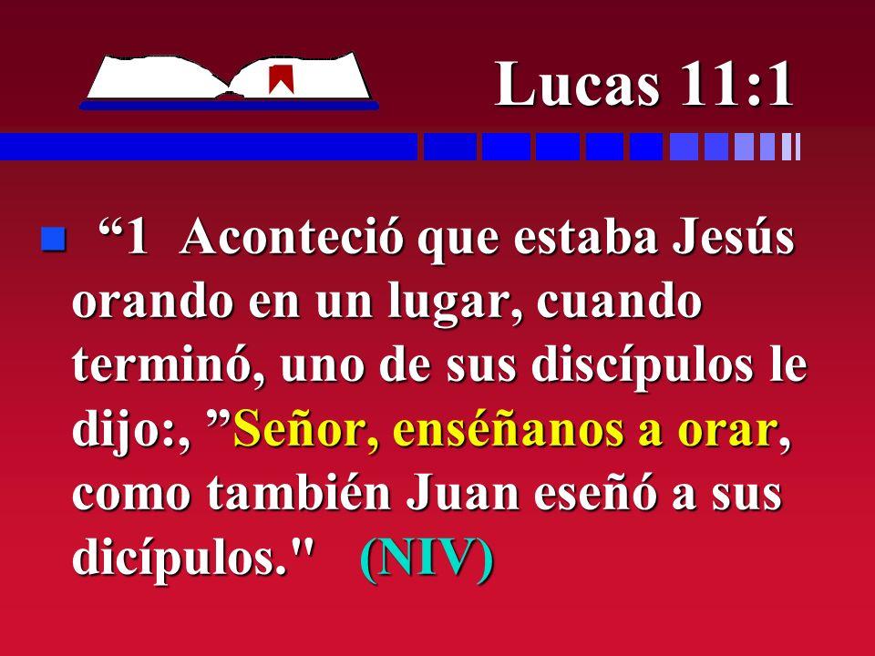 Lucas 11:1