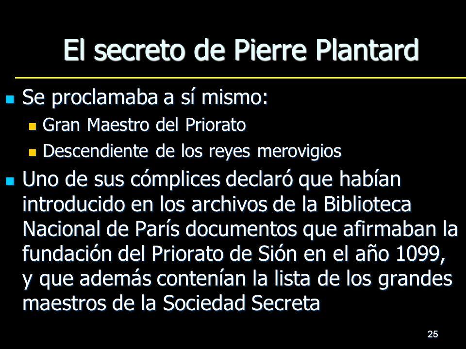 El secreto de Pierre Plantard
