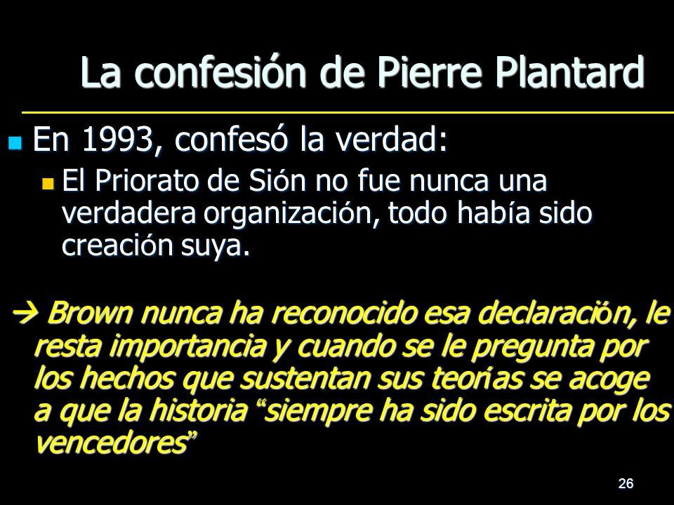 La confesión de Pierre Plantard
