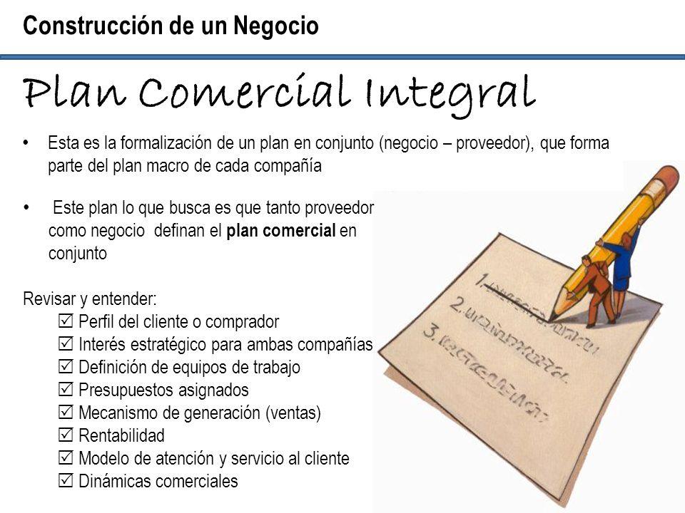 Plan Comercial Integral