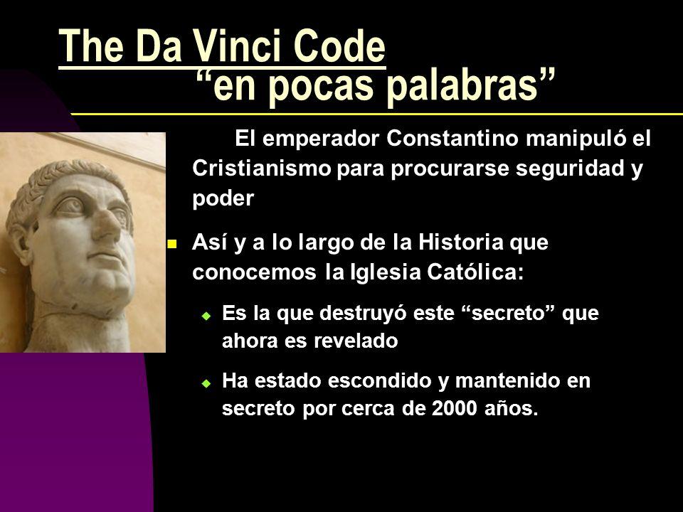 The Da Vinci Code en pocas palabras