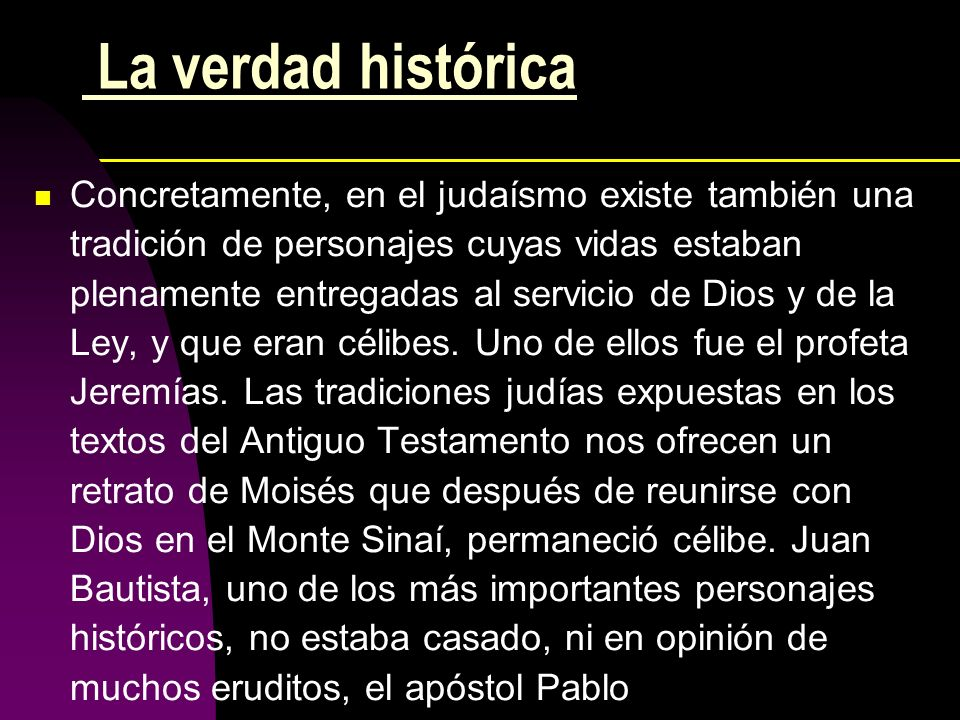 La verdad histórica