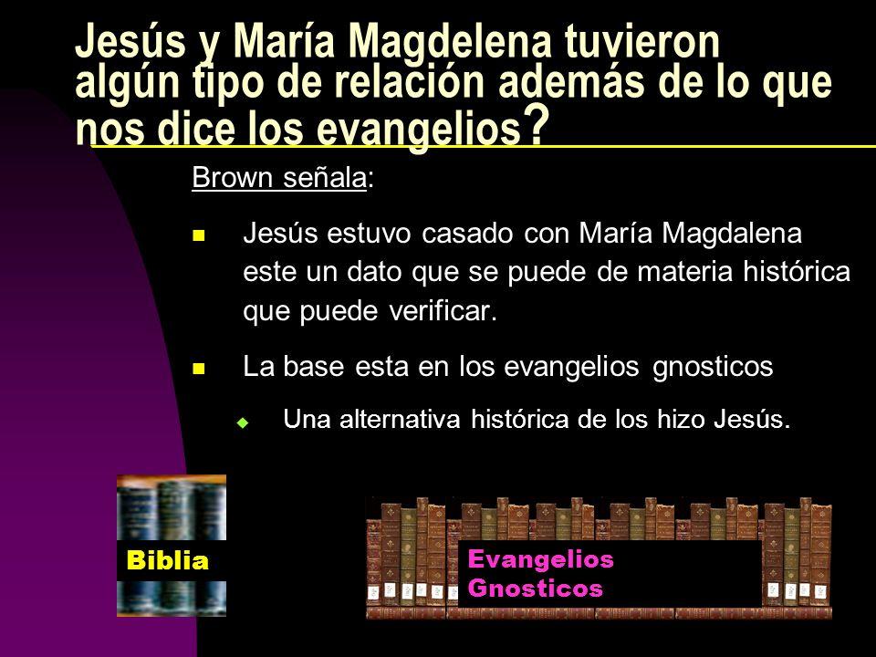 Jesús y María Magdelena tuvieron algún tipo de relación además de lo que nos dice los evangelios