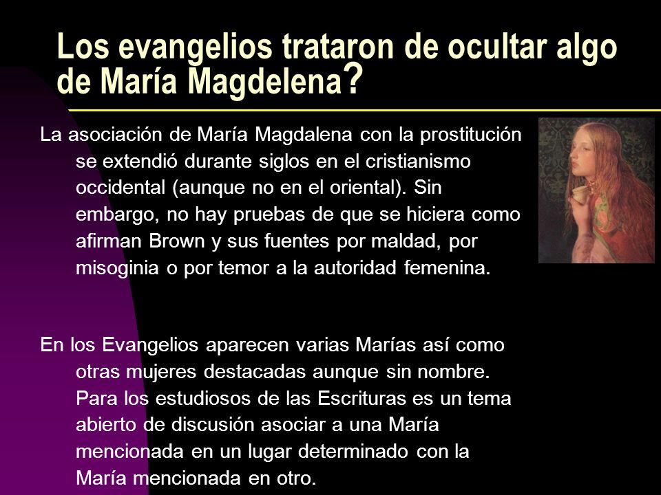 Los evangelios trataron de ocultar algo de María Magdelena