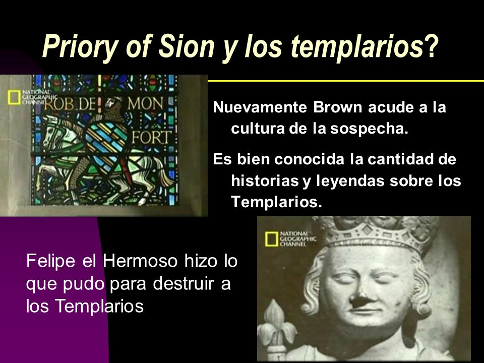 Priory of Sion y los templarios
