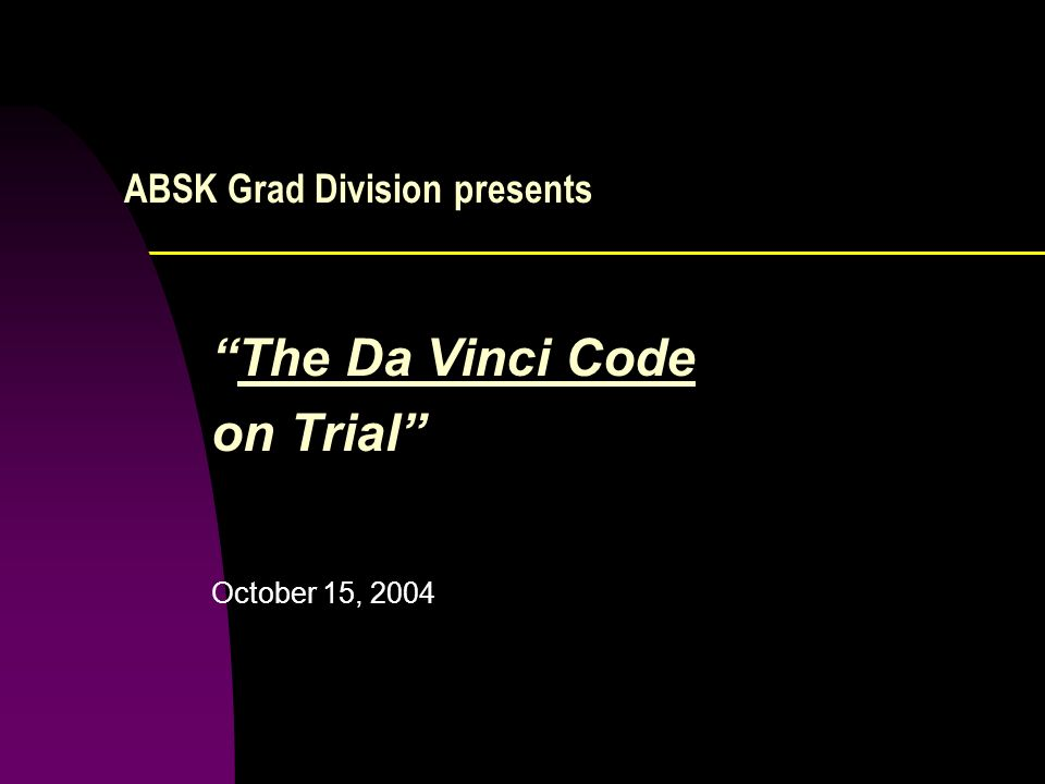 ABSK Grad Division presents