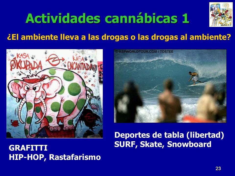 Actividades cannábicas 1