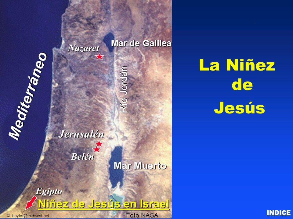 La Niñez de Jesús Mediterráneo Jerusalén Niñez de Jesús en Israel