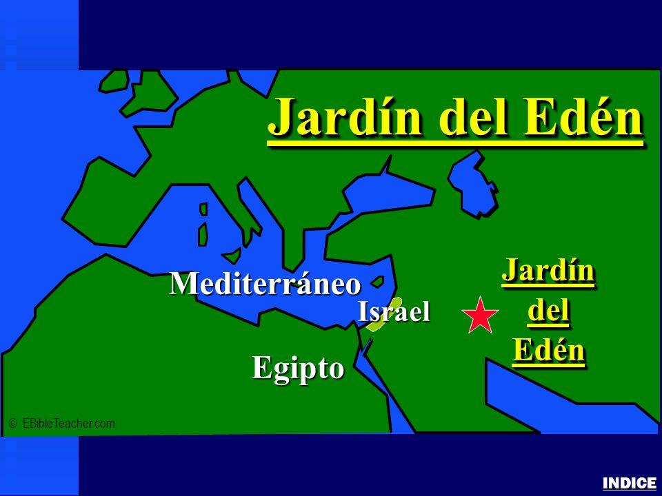 Jardín del Edén Jardín Mediterráneo del Edén Egipto Israel INDICE