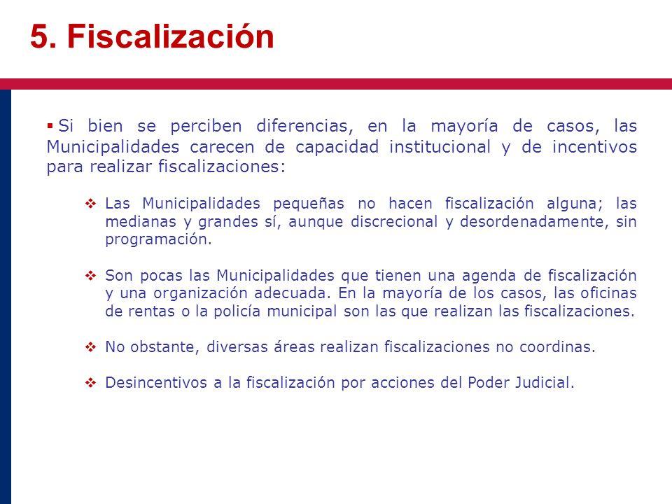 5. Fiscalización