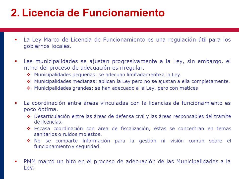 2. Licencia de Funcionamiento