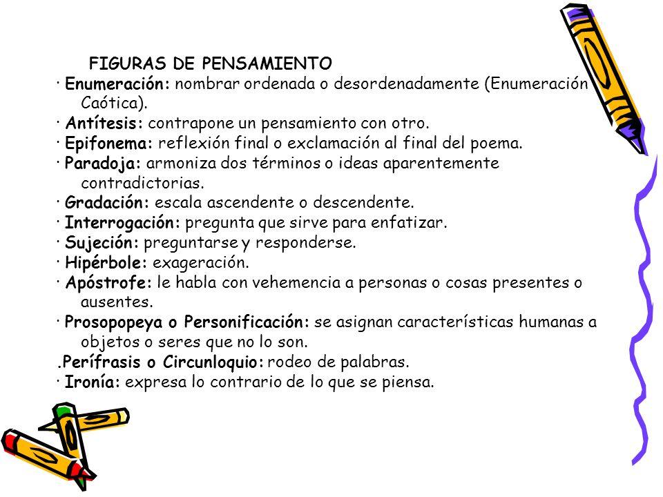 FIGURAS DE PENSAMIENTO