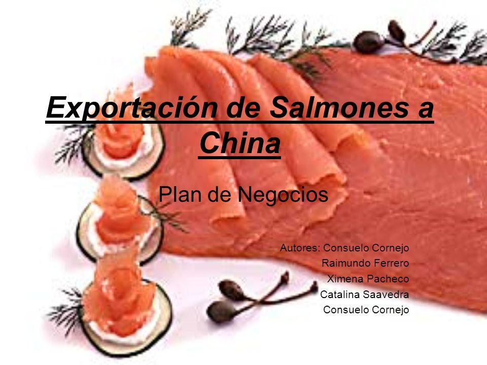 Exportación de Salmones a China