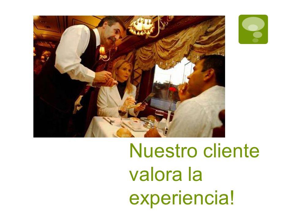 Nuestro cliente valora la experiencia!