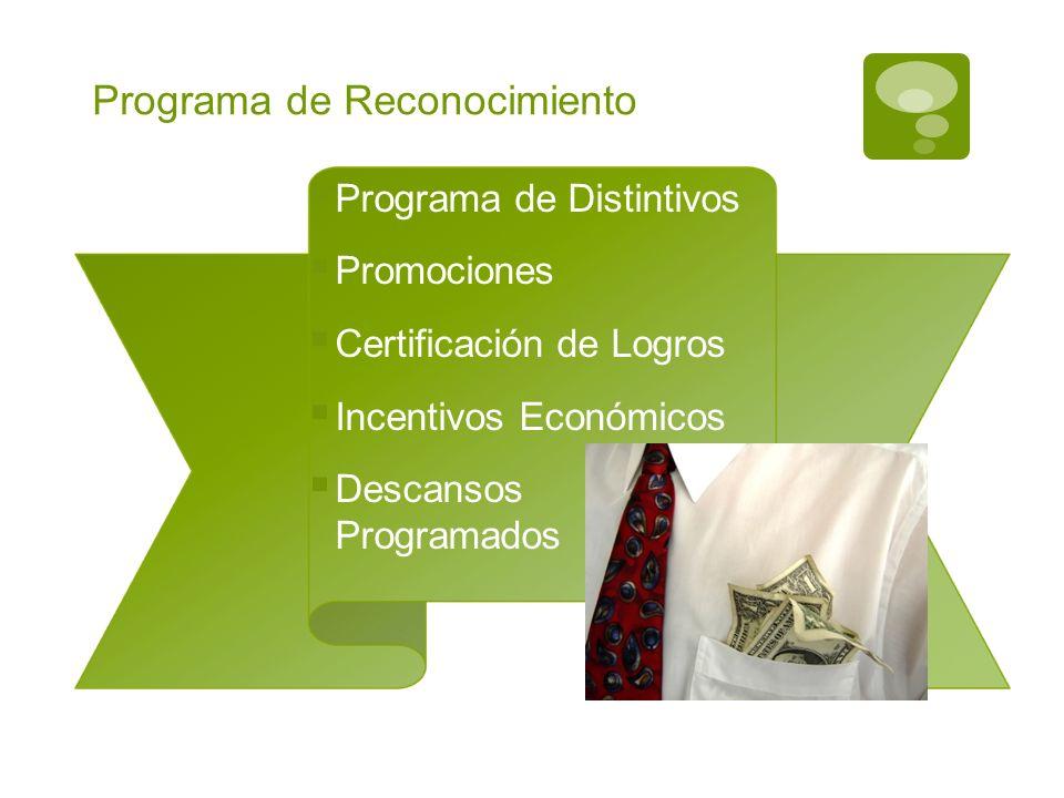 Programa de Reconocimiento