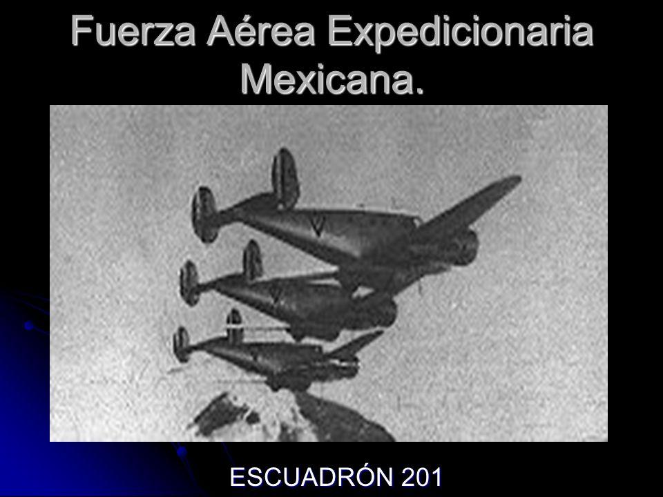 Fuerza Aérea Expedicionaria Mexicana.