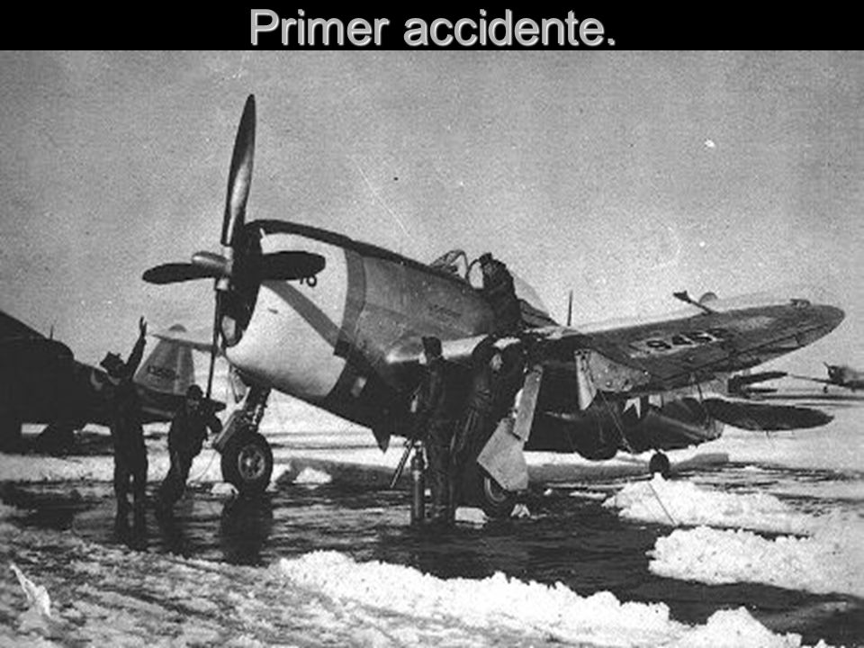Primer accidente.
