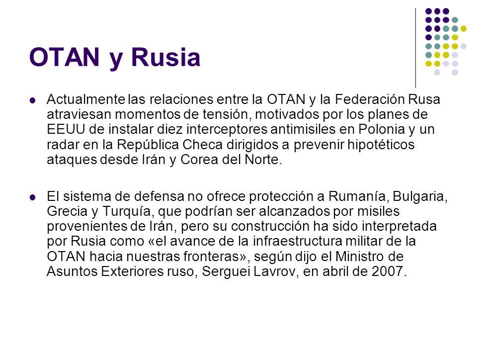 OTAN y Rusia