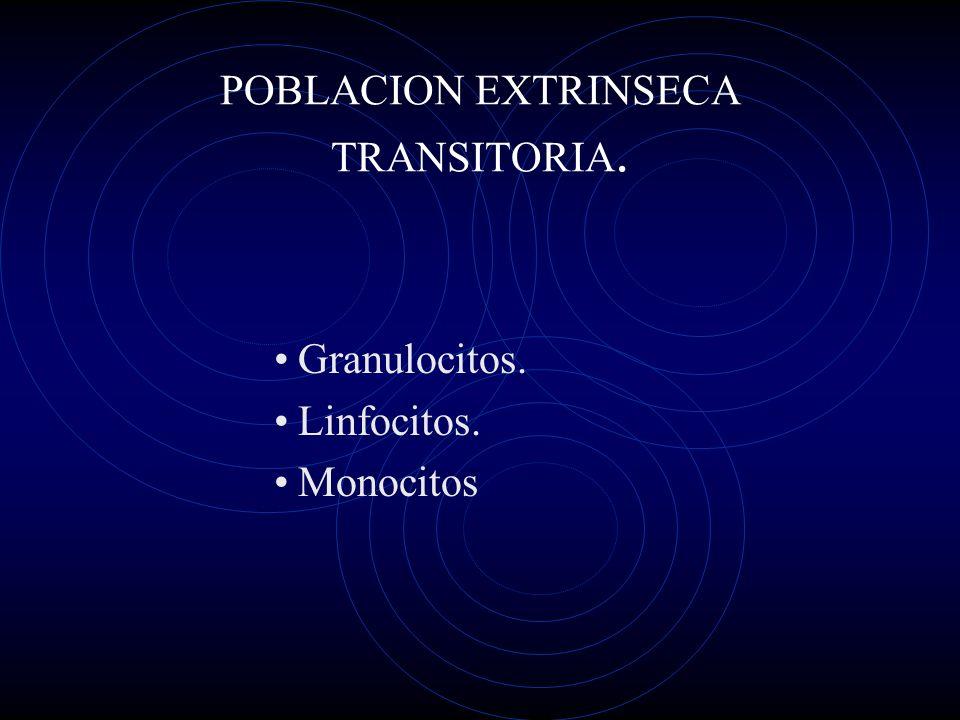 POBLACION EXTRINSECA TRANSITORIA.