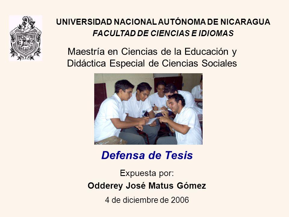 Expuesta por: Odderey José Matus Gómez 4 de diciembre de 2006