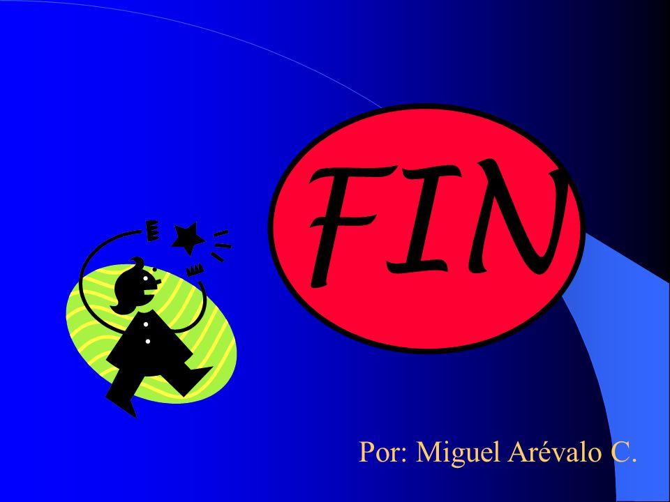 FIN Por: Miguel Arévalo C.