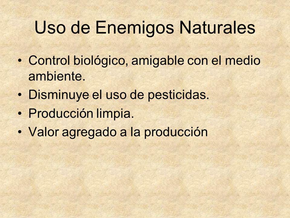 Uso de Enemigos Naturales