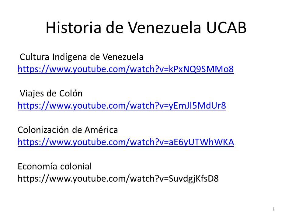 Historia De Venezuela Ucab Ppt Descargar