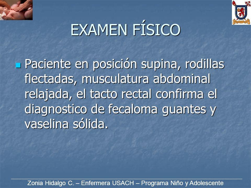 Zonia Hidalgo C. – Enfermera USACH – Programa Niño y Adolescente