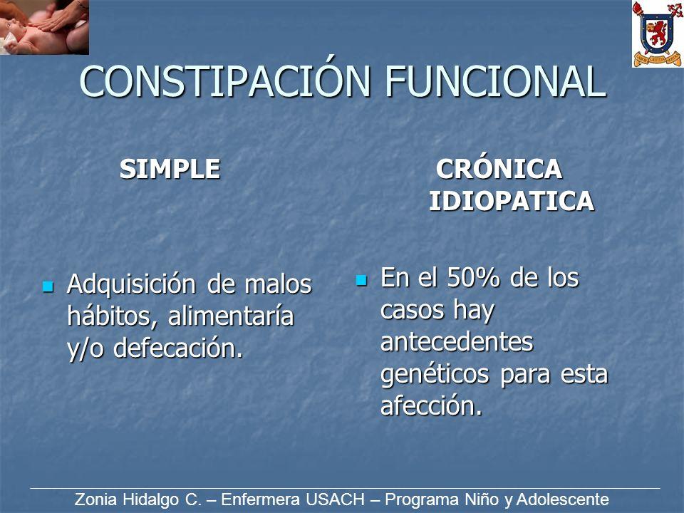 CONSTIPACIÓN FUNCIONAL