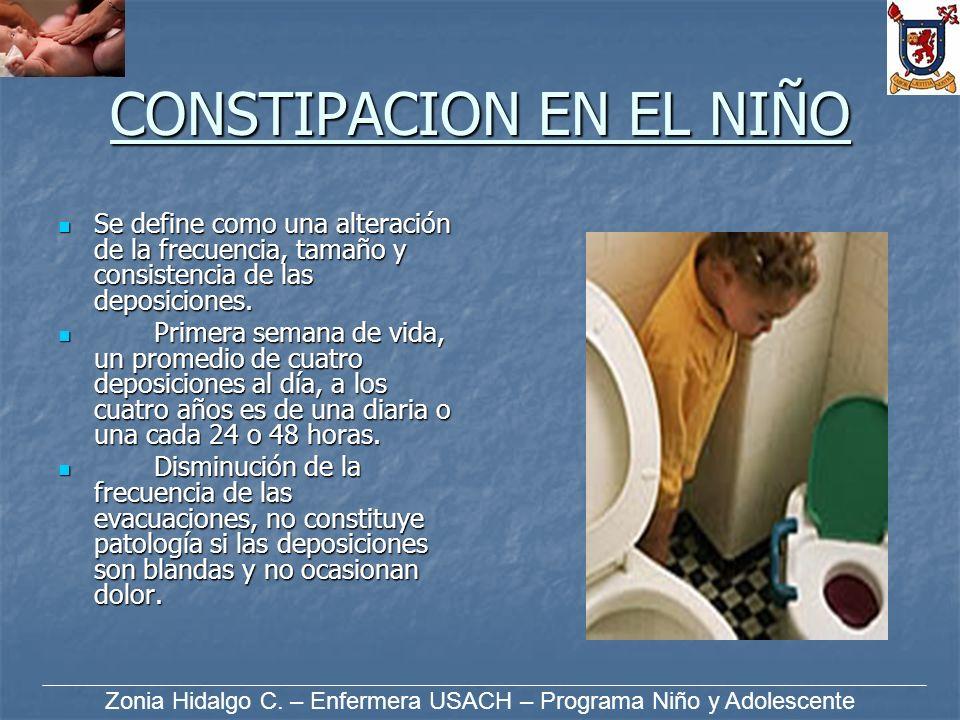 CONSTIPACION EN EL NIÑO