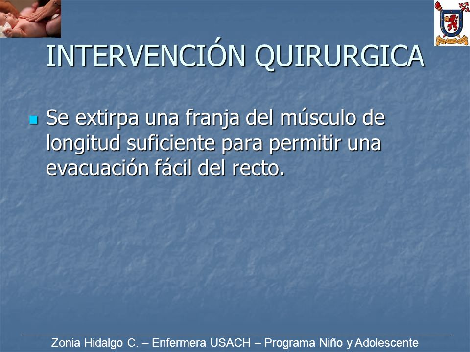 INTERVENCIÓN QUIRURGICA