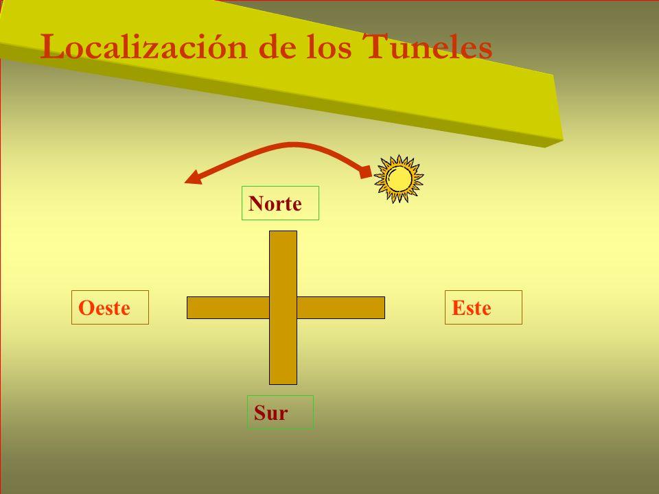 Localización de los Tuneles