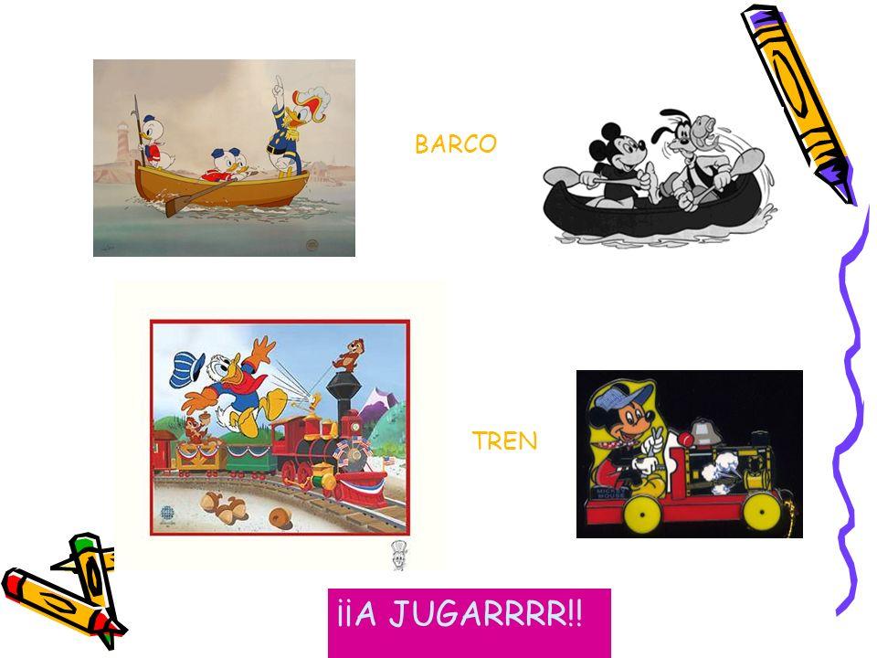 BARCO TREN ¡¡A JUGARRRR!!