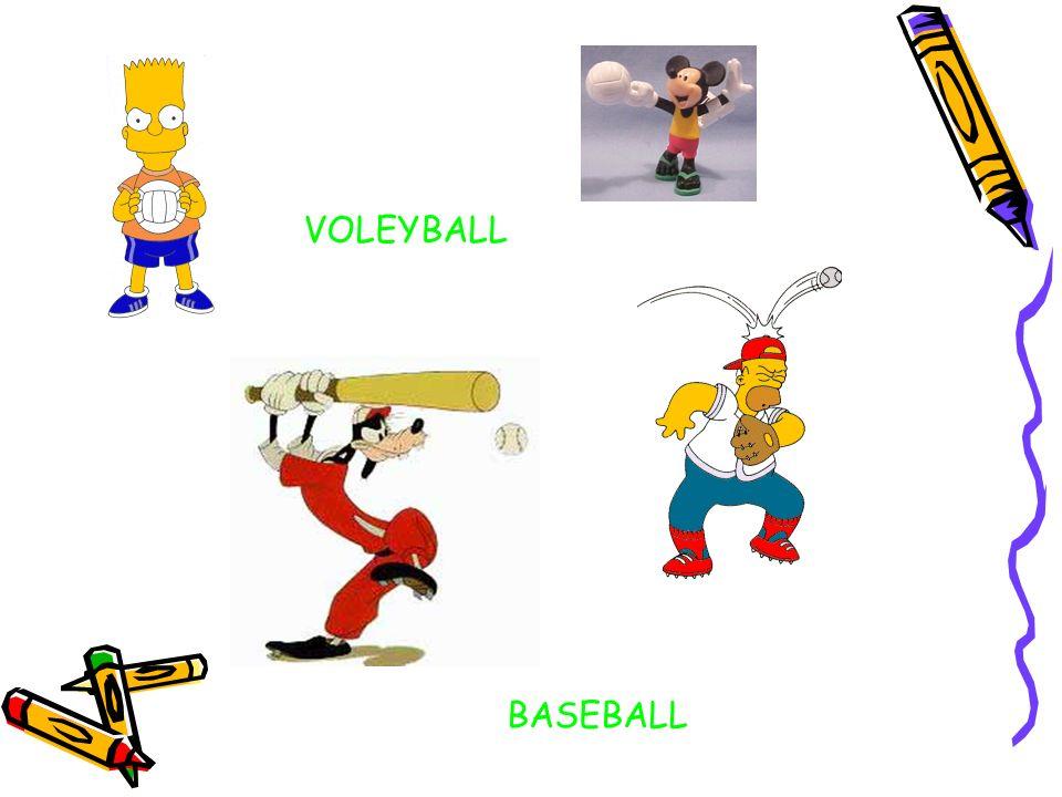 VOLEYBALL BASEBALL
