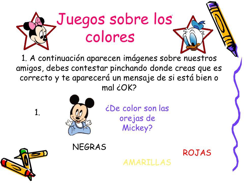 Juegos sobre los colores