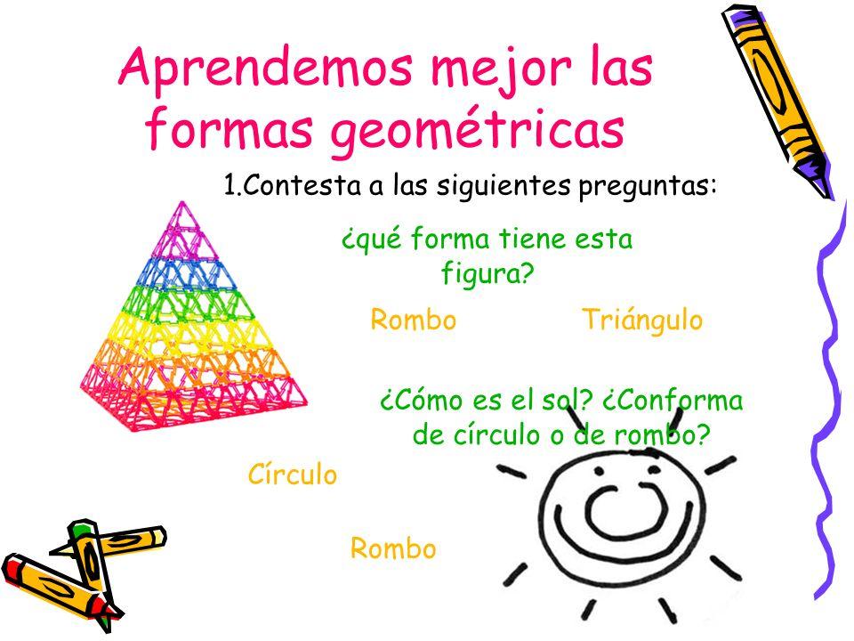 Aprendemos mejor las formas geométricas