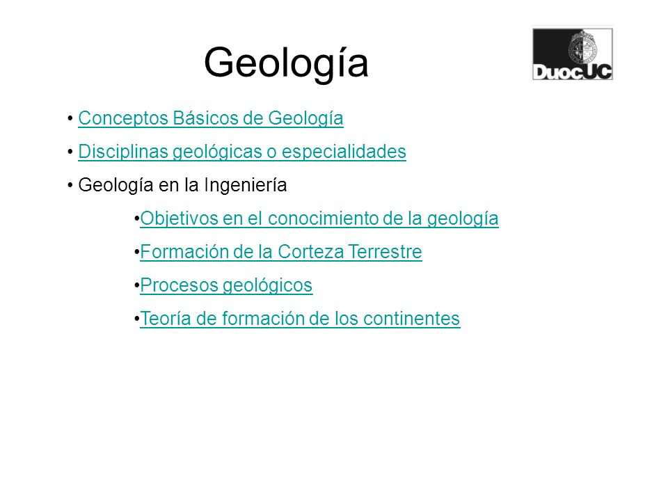 Geología Conceptos Básicos de Geología