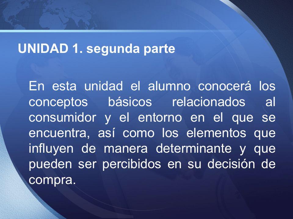 UNIDAD 1. segunda parte
